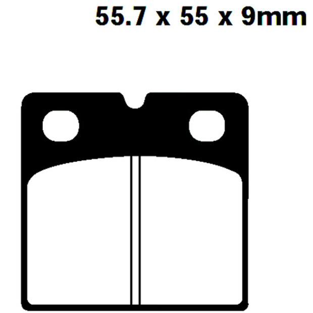 Rear-Front Brake pads type  FA018 for BMW and most models