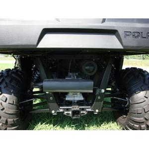 Silent Rider exhaust Polaris Ranger long wheel base