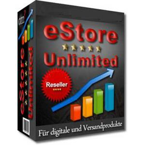 Ecomerce Shop UNLIMITED - PROFI SHOP - MASTER RESELLER...