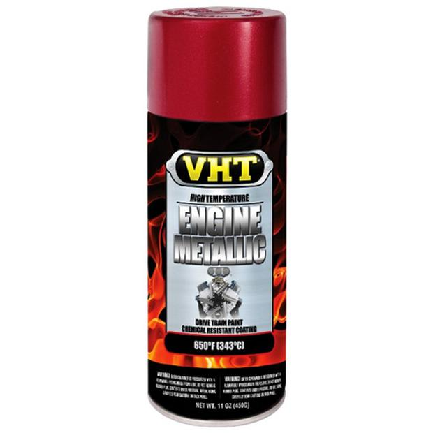 Engine red copper metallic color VHT paint