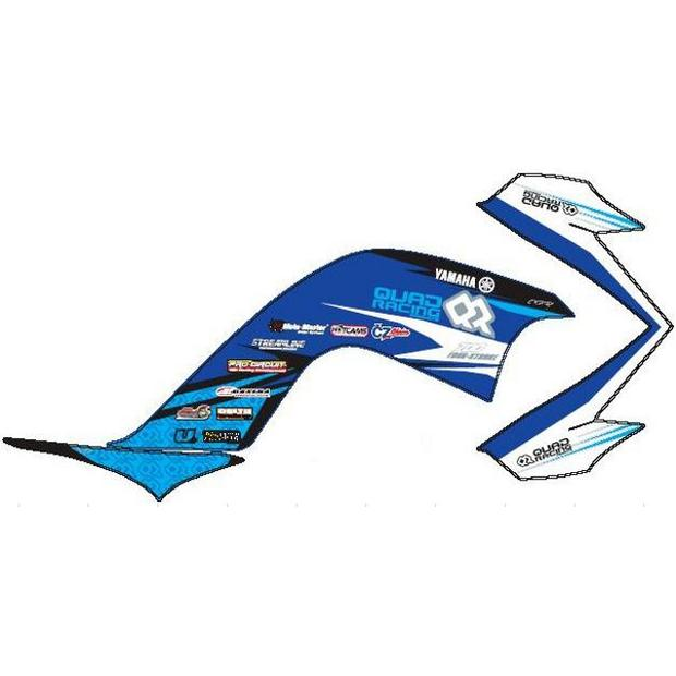 Graphic Kit Yamaha Raptor YFM 700R blue